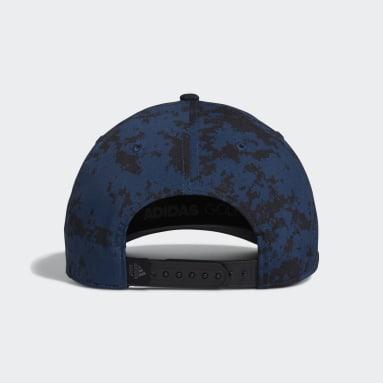 Men Golf Blue Tour Camo-Print Cap