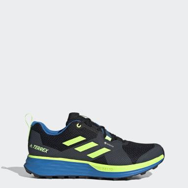 Men TERREX Black Terrex Two GORE-TEX Trail Running Shoes