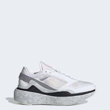 Women adidas by Stella McCartney White adidas by Stella McCartney Earthlight Mesh Shoes