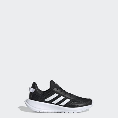 Kids Essentials Black Tensor Run Shoes