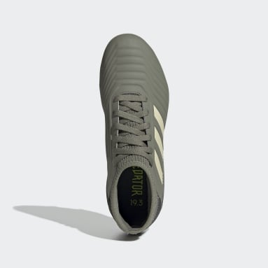 Zapatos de Fútbol Predator 19.3 Terreno Firme (UNISEX) Verde Niño Fútbol