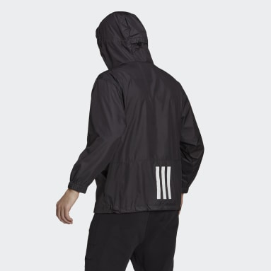 Men City Outdoor Black Back to Sport WIND.RDY Anorak