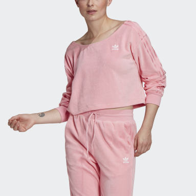 Women's Originals Pink LOUNGEWEAR Sweater