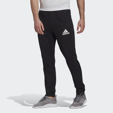 Men Training Black adidas Designed To Move Motion AEROREADY Pants