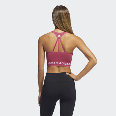 Women's Yoga Pink Training Aeroknit Bra