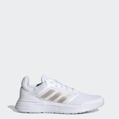 Women Running White Galaxy 5 Shoes