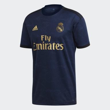 Men Football Blue Real Madrid Away Jersey