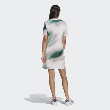Tee Dress Wielokolorowy