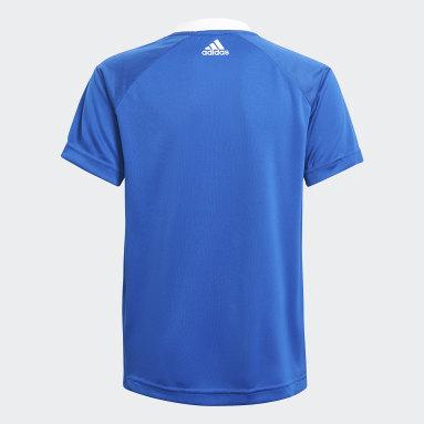 Camiseta Predator Football-Inspired Azul Niño Gimnasio Y Entrenamiento