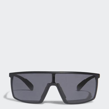 Lunettes de soleil SP0004 Shiny Black Injected Sport Noir Padel Tennis