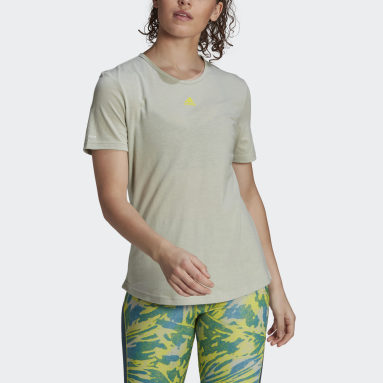 Women's Training Green adidas x Zoe Saldana AEROREADY Tee
