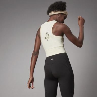 Débardeur Terra Love Crop blanc Femmes Sportswear