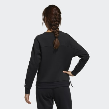 Women Sportswear Black Sweater