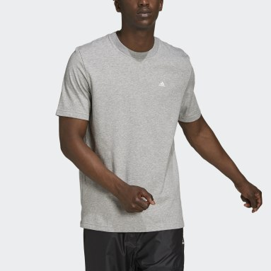 Camiseta adidas Sportswear Comfy and Chill Gris Hombre Sportswear