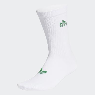 Originals Stan Smith Schuh Socken Weiß