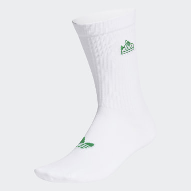 Stan Smith Socks Bialy