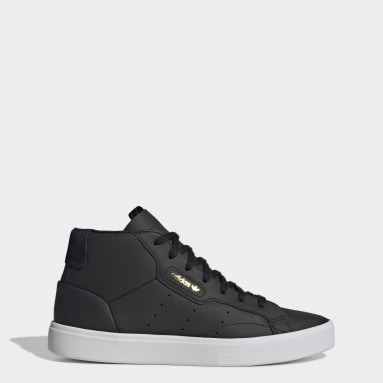 Women Originals Black adidas Sleek Mid Shoes