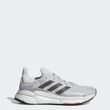 Women's Running Grey Solarboost 3 Shoes