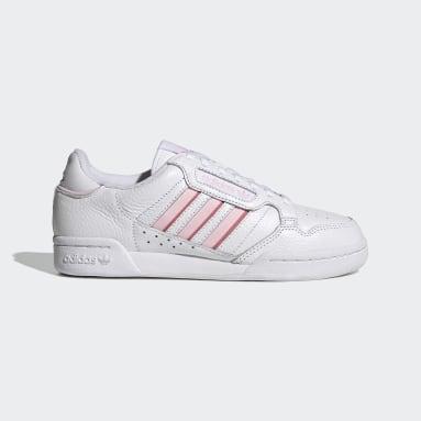 ผู้หญิง Originals สีขาว รองเท้า Continental 80 Stripes