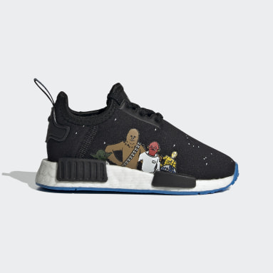 Infants Originals Black NMD_R1 Star Wars Shoes