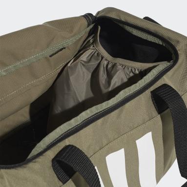 Lifestyle Green 3-Stripes Duffel Bag Small
