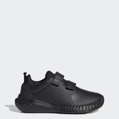Kids Running Black FortaGym CF Shoes