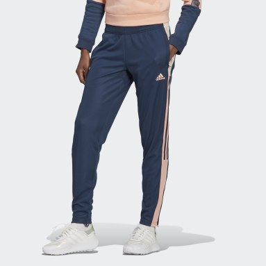 Women's Soccer Blue Tiro Track Pants