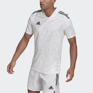 Men Football White Condivo 21 Primeblue Jersey