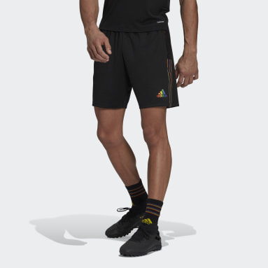 Men Football Black Tiro Pride Shorts