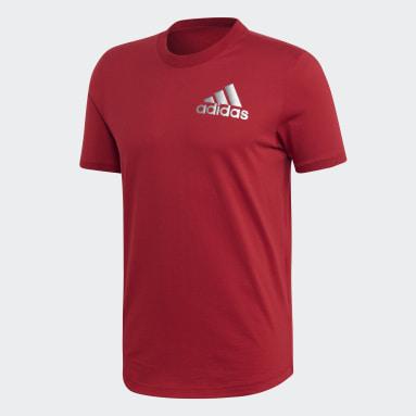 T-shirt Sport ID Bordeaux Hommes Sportswear