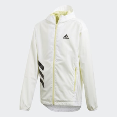 Campera Rompevientos XFG Must Haves Blanco Niña Training