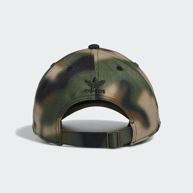 Men's Originals Multicolor Relaxed Blur Camo Strap-Back Hat