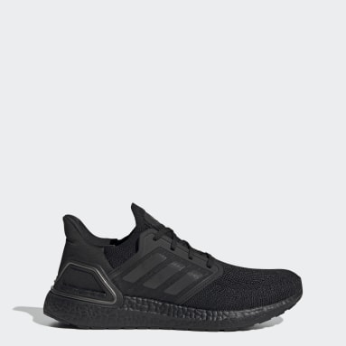 Running Black Ultraboost 20 All Blacks