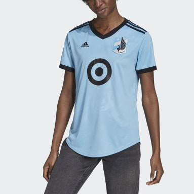 Women's Soccer Blue Minnesota United FC 21/22 Away Jersey