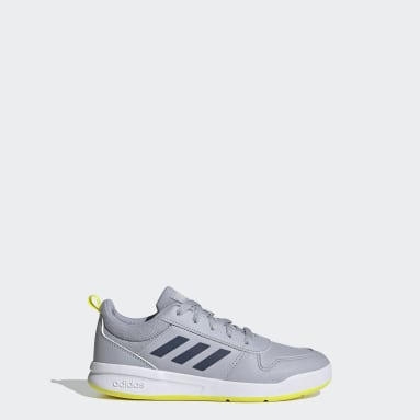 Kids Running Grey Tensaur Shoes