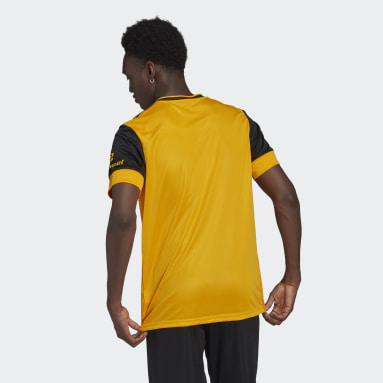 Football Yellow Wolverhampton Wanderers 20/21 Home Jersey