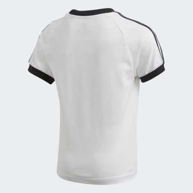 T-shirt 3-Stripes Bianco Bambini Originals
