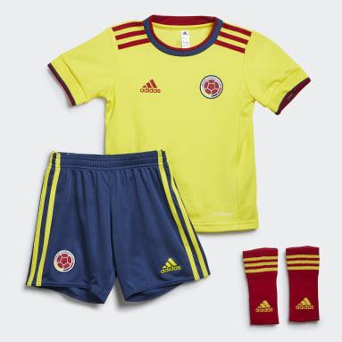 Mini Uniforme de Local Selección Colombia Amarillo Niño Fútbol
