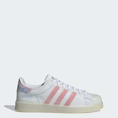 Men Originals White Superstar Futureshell Shoes