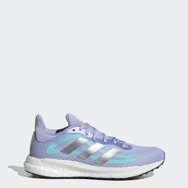 Women's Running Purple SolarGlide 4 ST Shoes