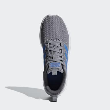 Kids Essentials Grey Lite Racer CLN Shoes