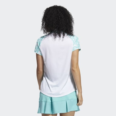 Polo Ultimate365 Primegreen Printed Bianco Donna Golf