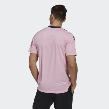 Men's Soccer Pink Inter Miami CF Training Jersey