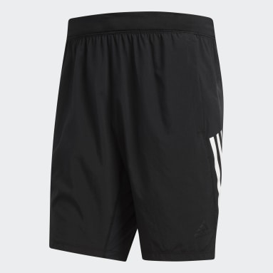 Shorts 4KRFT Tech Woven 3 Franjas Negro Hombre Training