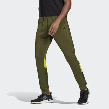 Men's Sportswear Green adidas Sportswear Fabric Block Pants