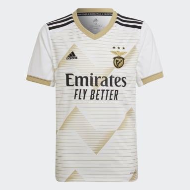 Camiseta tercera equipación Benfica 20/21 Blanco Niño Fútbol