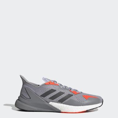 Men Running Grey X9000L3 Shoes
