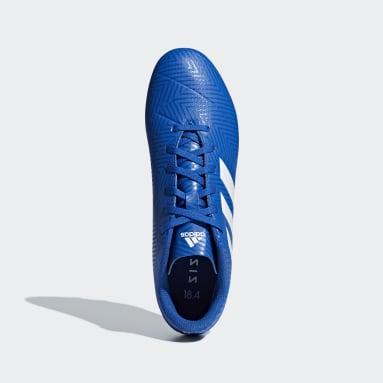 Calzado de Fútbol Nemeziz 18.4 Multiterreno Azul Hombre Fútbol