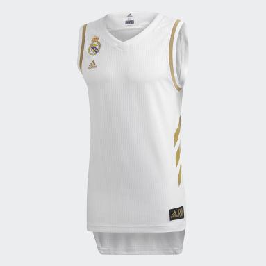 Basketbal bílá Dres Real Madrid Game