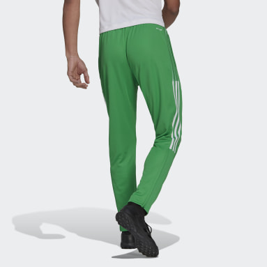 Men Football Green Tiro Tracksuit Bottoms